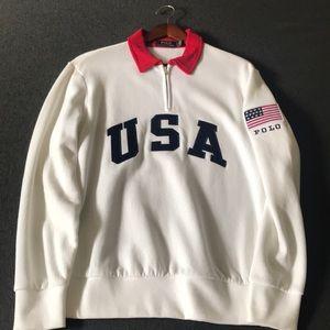 Polo Ralph Lauren 1/4 Zip Sweatershirt